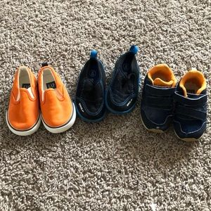 Small lot of boys shoes